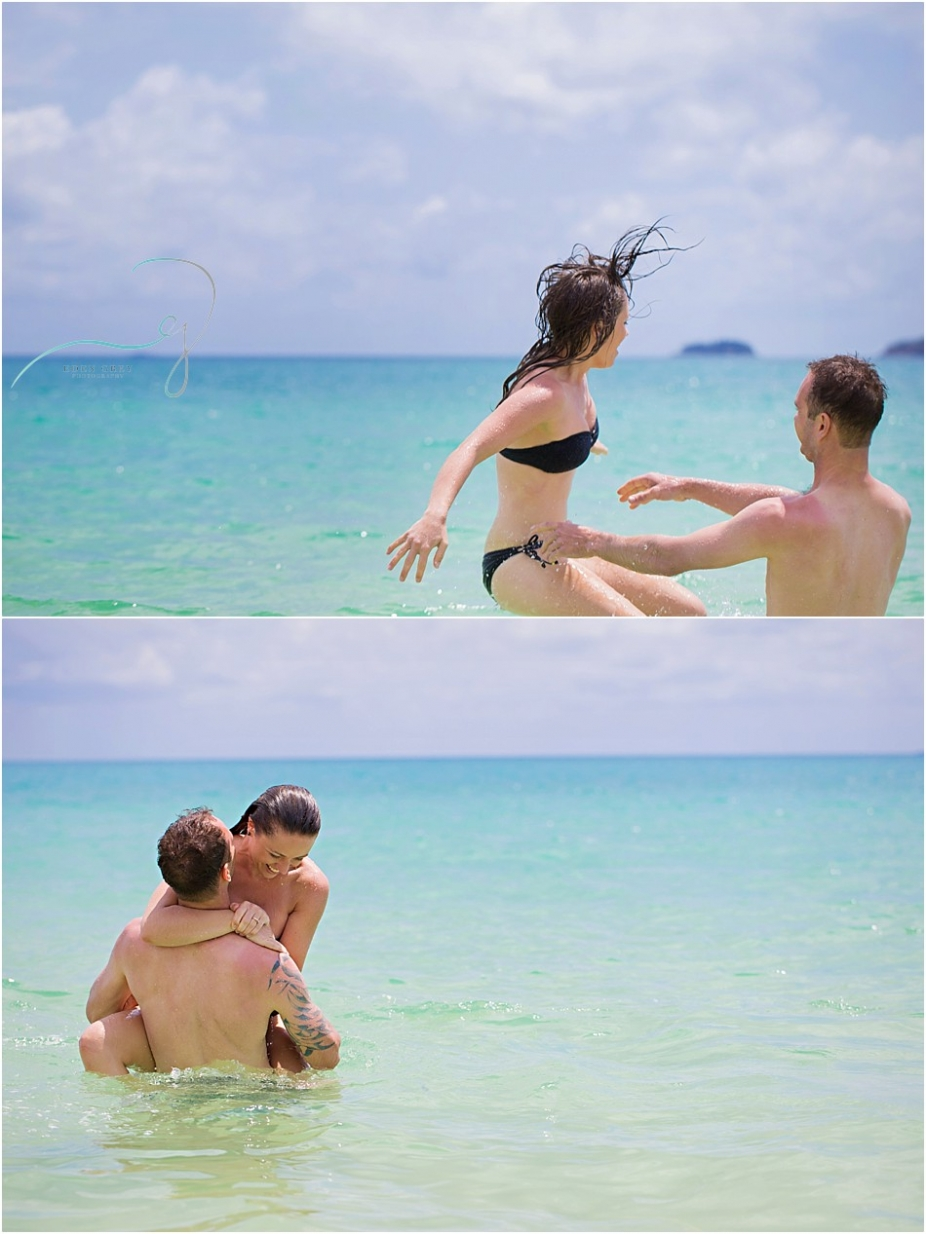 Whitehaven Beach Engagement Photography