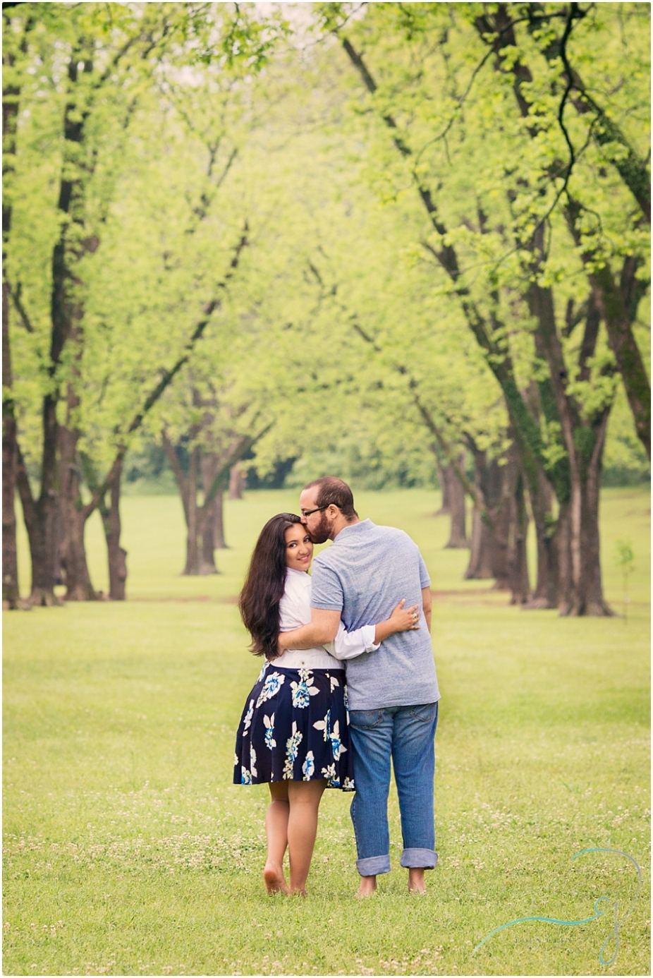 East Texas Engagement Pictures