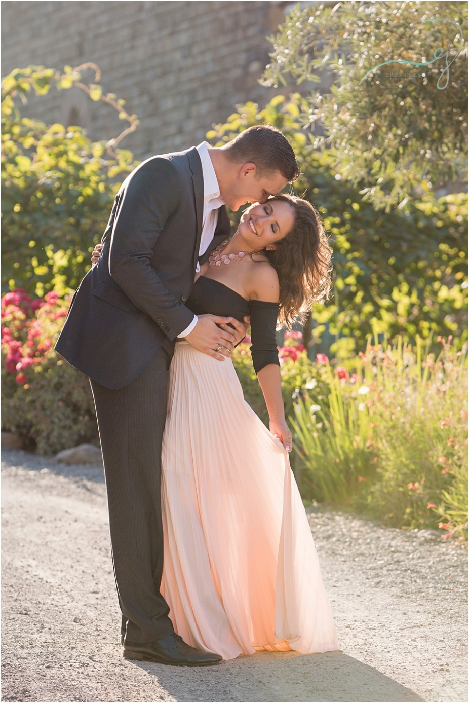 Engagement pictures in Napa Valley