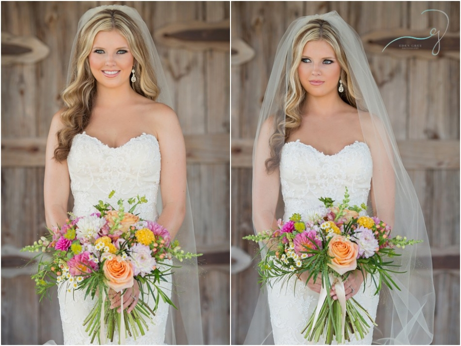 Moffit Oaks Bridal Portraits