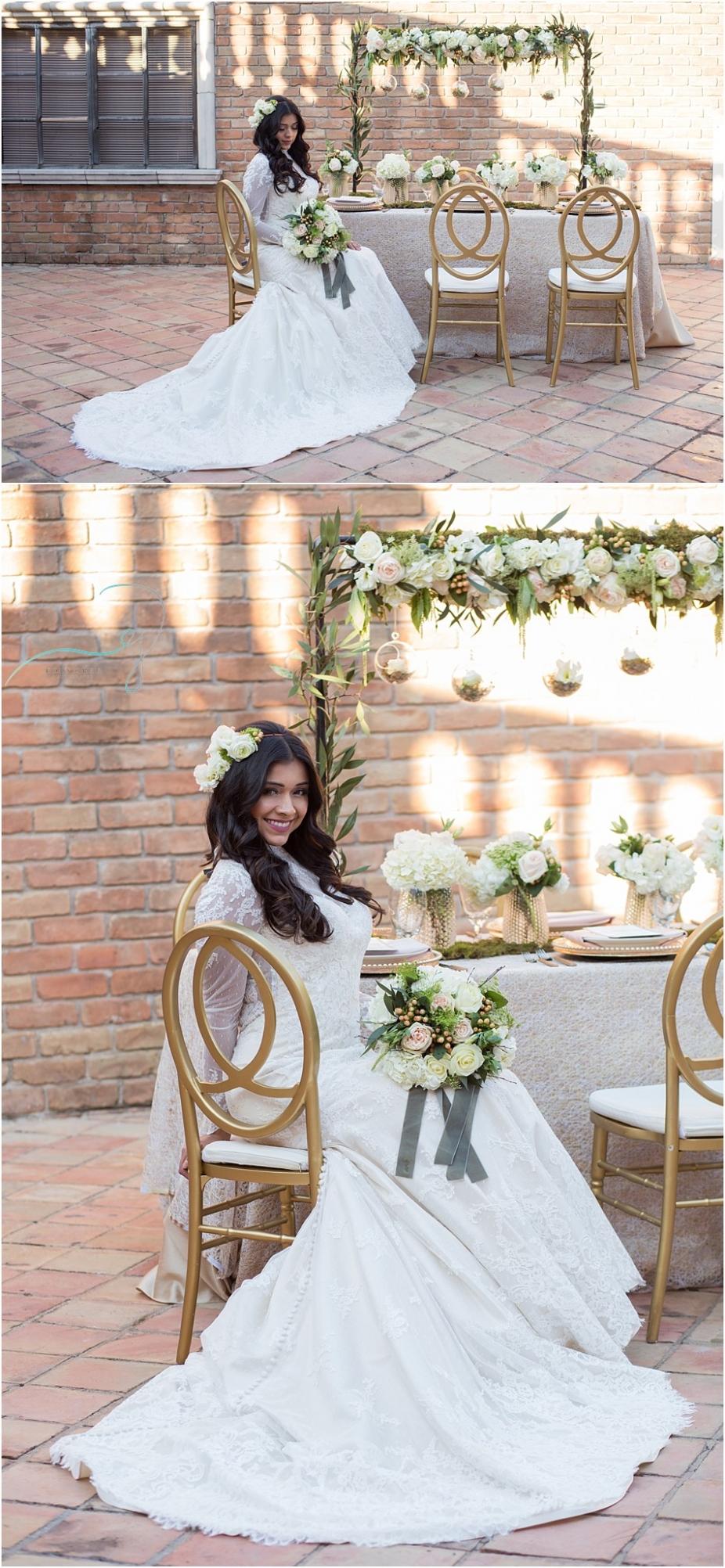 Styled Wedding Session