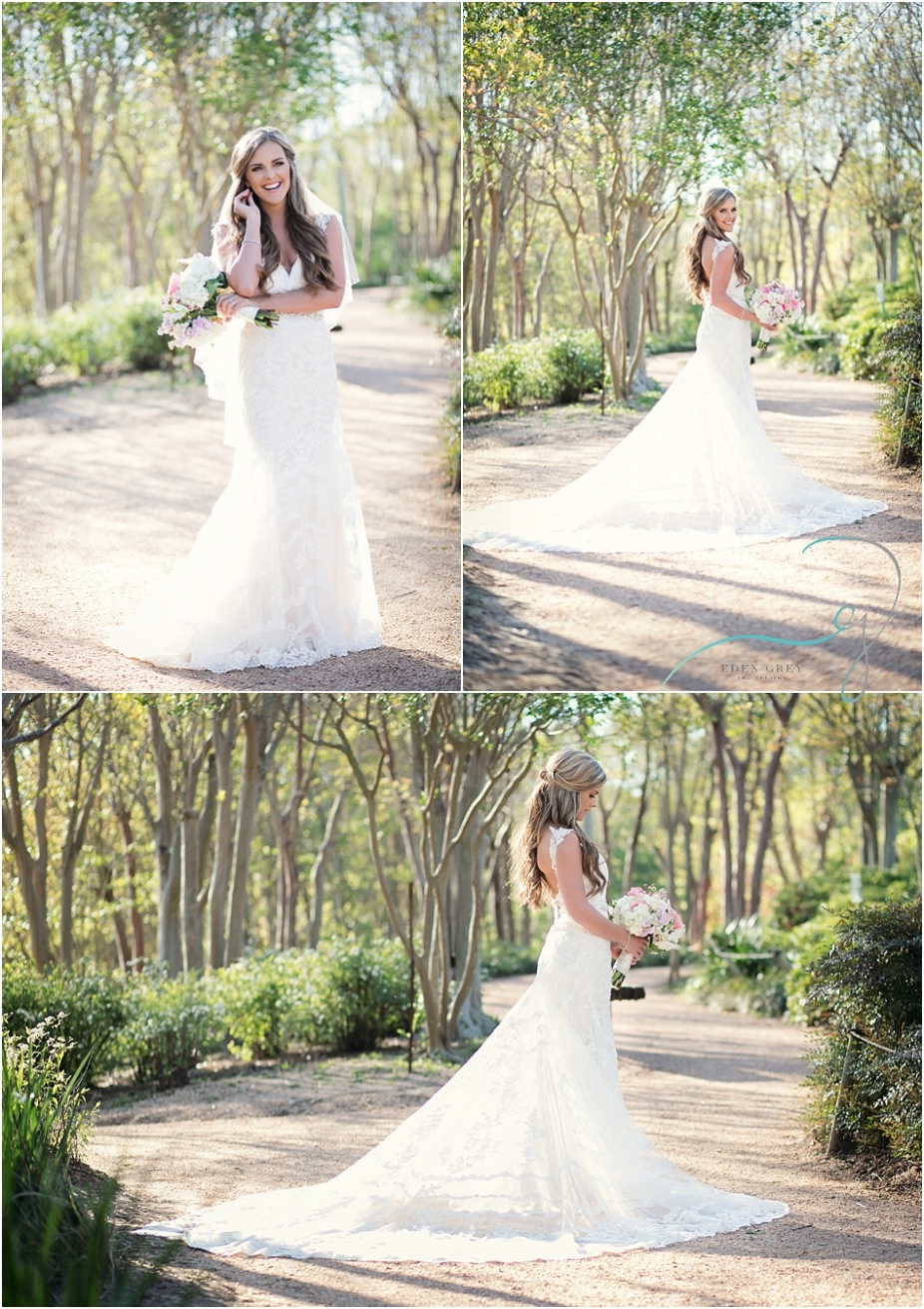 Bridal Pictures in Houston Texas