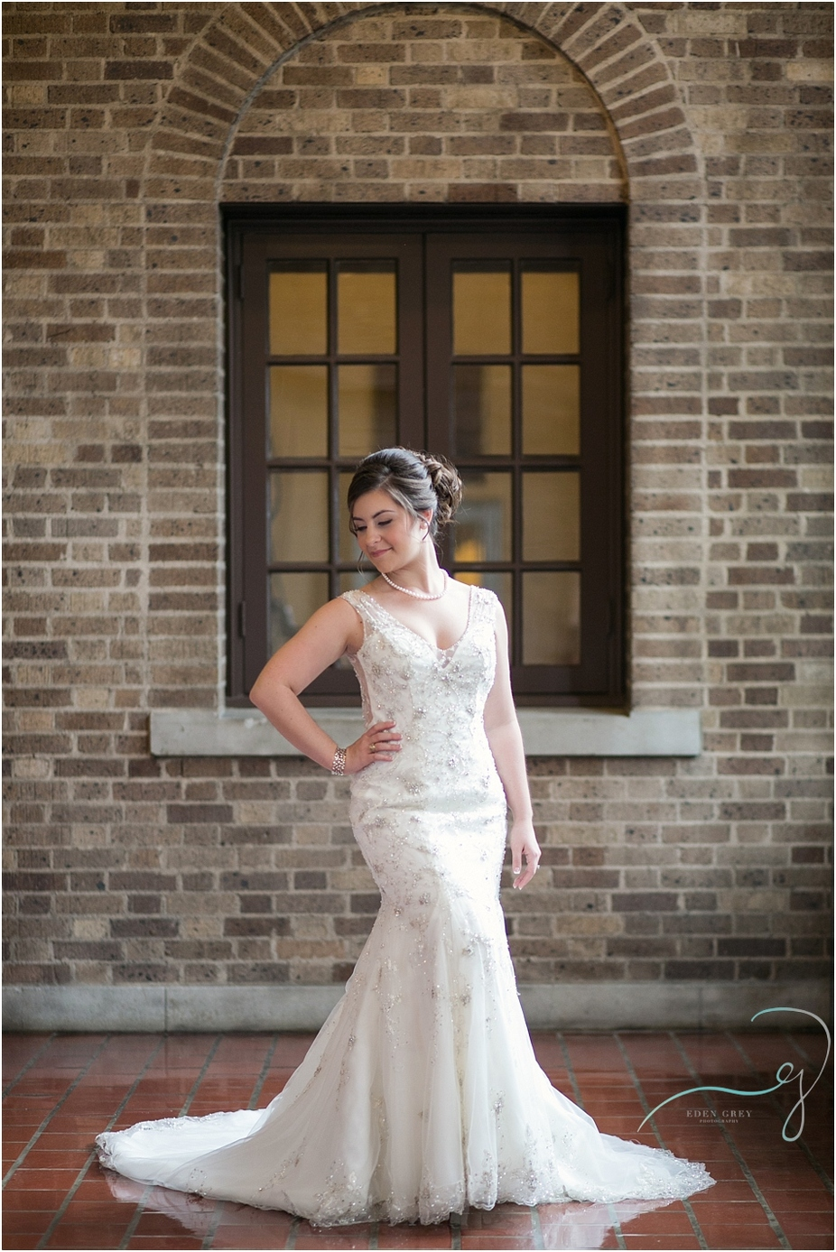 Julia Ideson Library Bridal Portraits