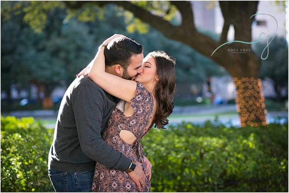 Romantic Engagement Photographers in Houston