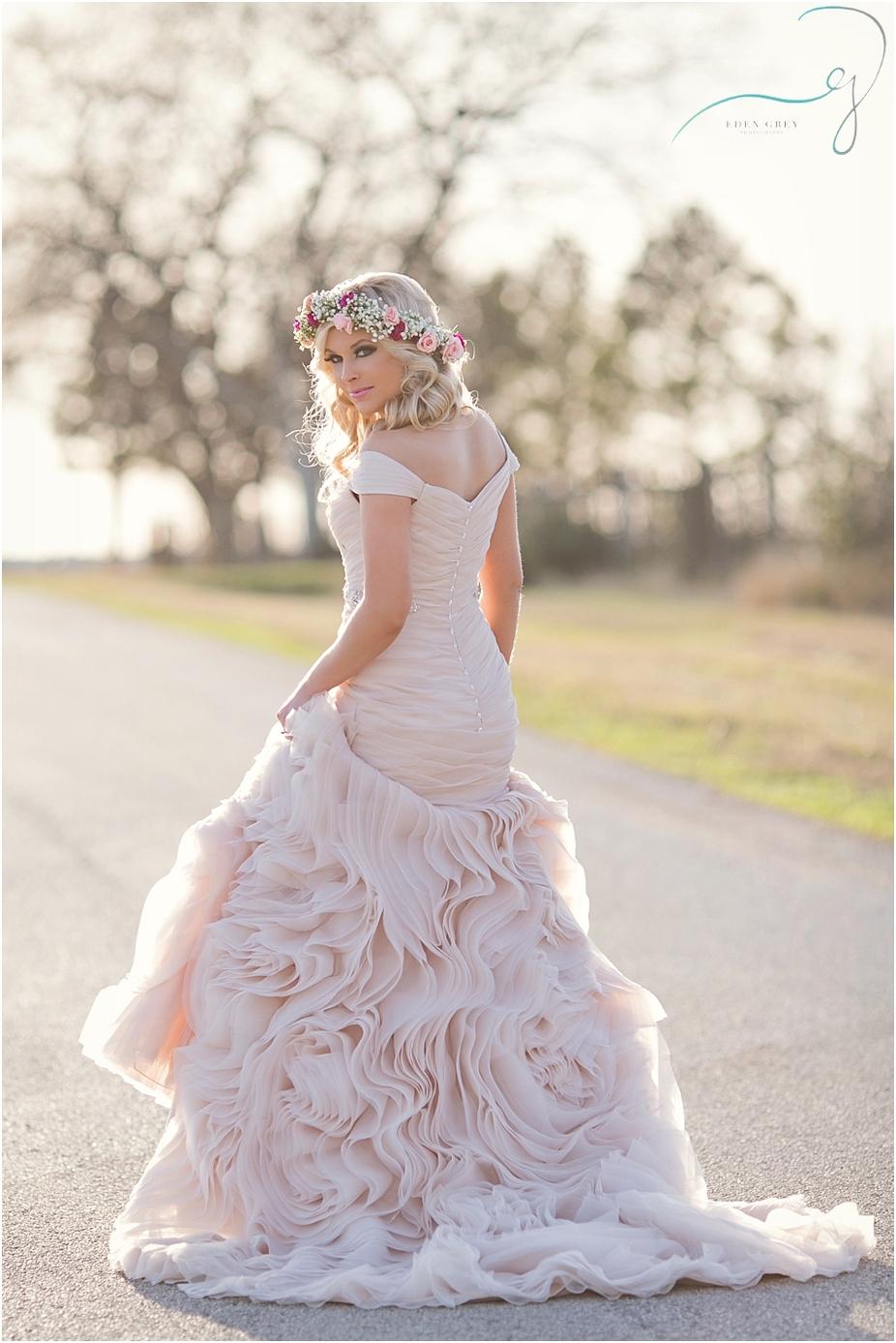 Blush wedding gowns - blush wedding dresses