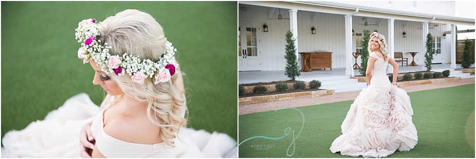 White barn weddings and portraits