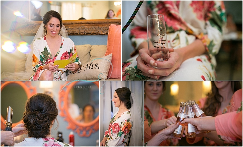 Pre wedding ceremony details