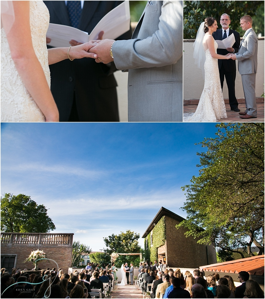 Wedding ceremony at The Gallery