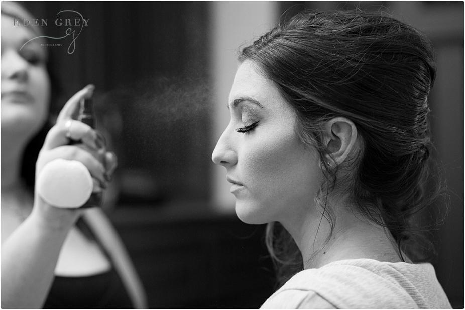 Bridal Preperations, Bridal makeup