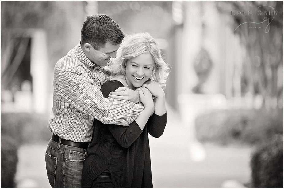 Romanic Engagement Pictures Houston