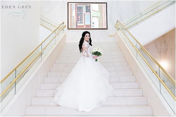 Classic Bridal Portraits in Houston