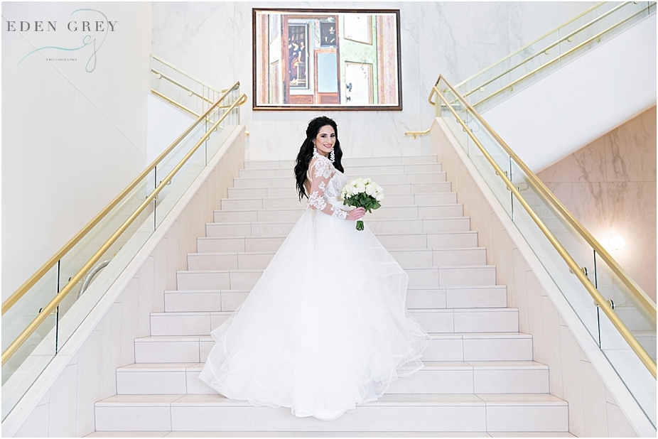 Classic Bridal Portraits in Houston